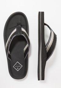GANT - PALMWORLD - T-bar sandals - black - 1