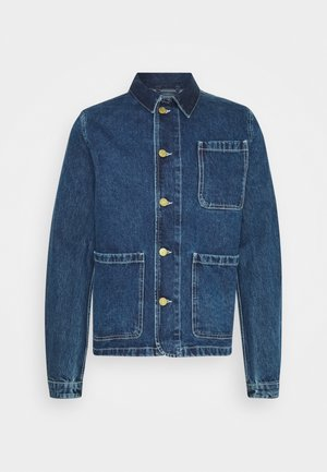 JJILUCAS JJJACKET - Džínová bunda - blue denim