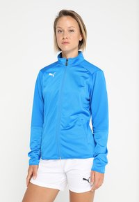 Puma - LIGA - Training jacket - electric blue lemonade/white - 0