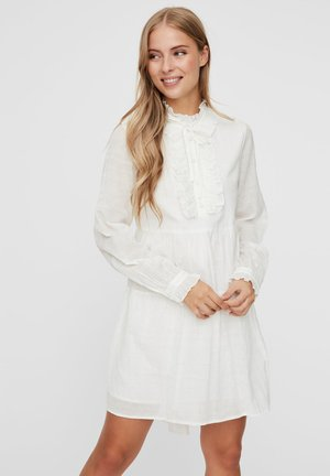 Shirt dress - snow white