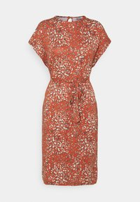 b.young - MALLI LEO DRESS - Jersey dress - etruscan red - 0