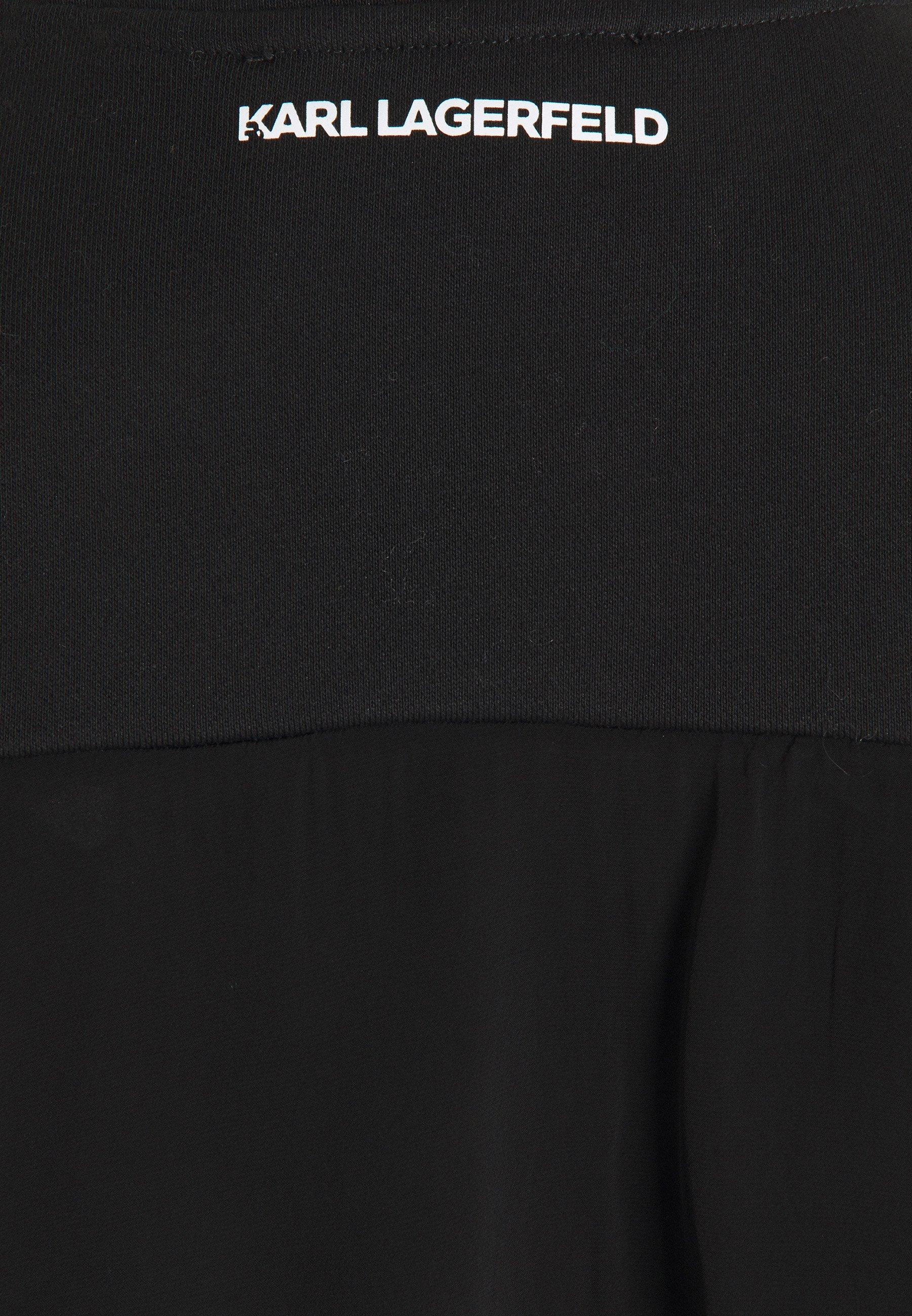 KARL LAGERFELD BOW RUFFLE  Freizeitkleid  black/schwarz