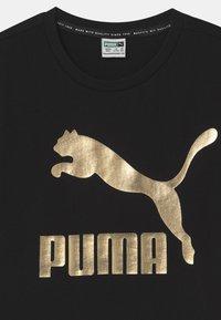 Puma - CLASSICS LOGO UNISEX - T-Shirt print - puma black - 2