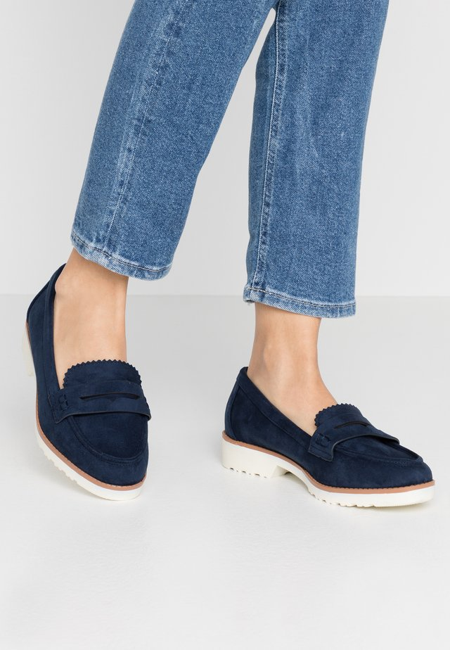 WIDE FIT ROCKET LOAFER - Nazouvací boty - navy