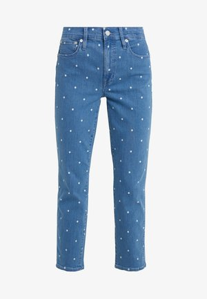 Straight leg jeans - shale blue