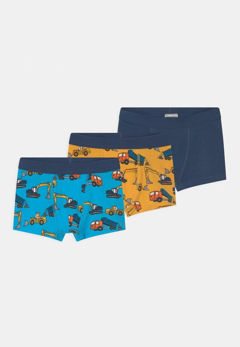 Lindex - 3 PACK - Pants - dark dusty blue