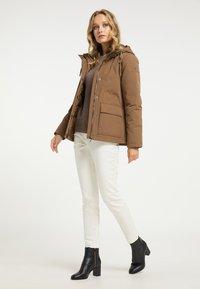 DreiMaster - Winter jacket - dunkelbeige - 1