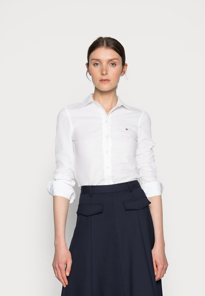 Tommy Hilfiger - REGULAR - Skjorte - white