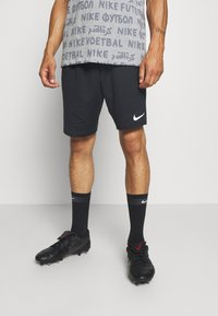 Nike Performance - SHORT - kurze Sporthose - black/white/white - 0