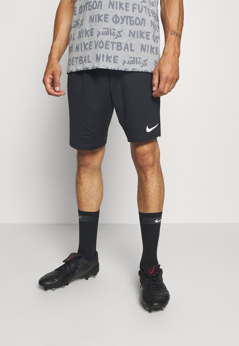 Nike Performance - SHORT - Sports shorts - black/white/white