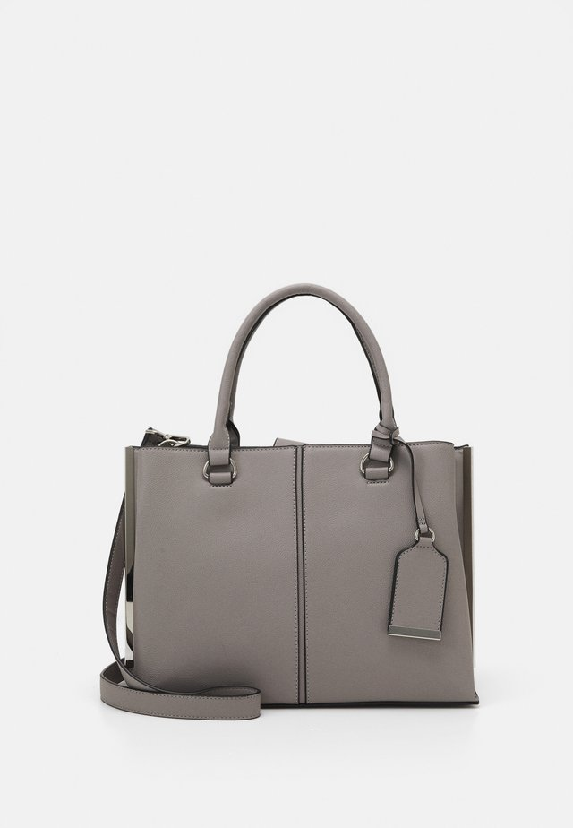 SIDE BAR TOTE - Handtasche - grey