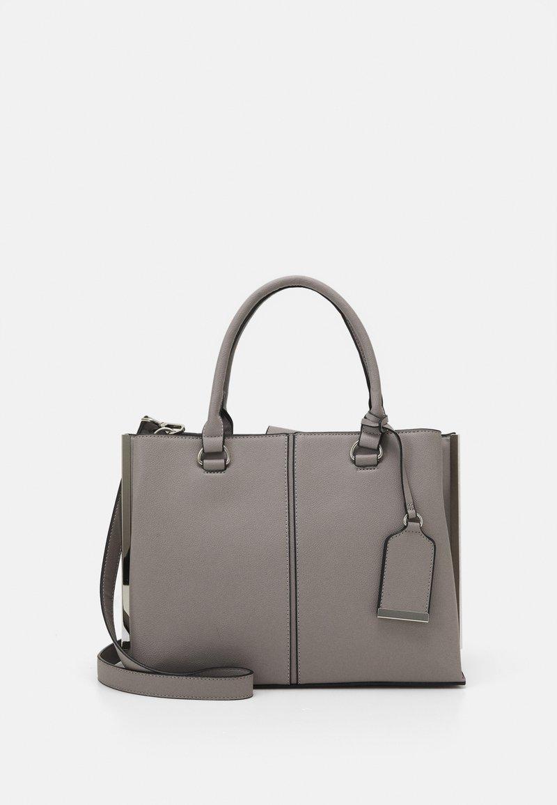 Dorothy Perkins - SIDE BAR TOTE - Handbag - grey