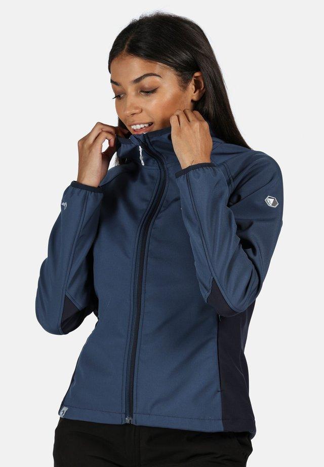 AREC  - Soft shell jacket - dkdenim/navy