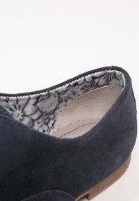 Anna Field - LEATHER FLAT SHOES LACE-UPS - Lace-ups - dark blue - 2