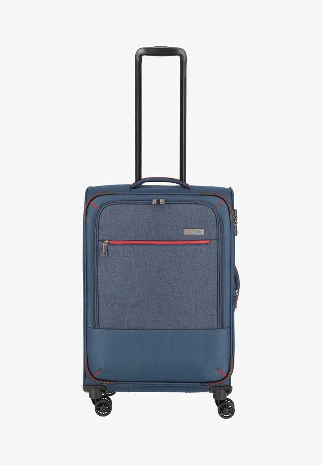ARONA - Wheeled suitcase - blue
