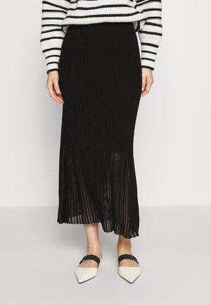 UMI - Maxi sukně - black