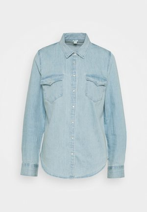 WESTERN BUTTONDOWN - Button-down blouse - light wash
