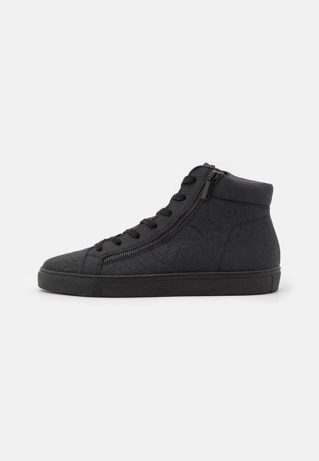 DONALD - Sneakers hoog - black glitter