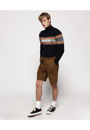 Shorts - tabacco