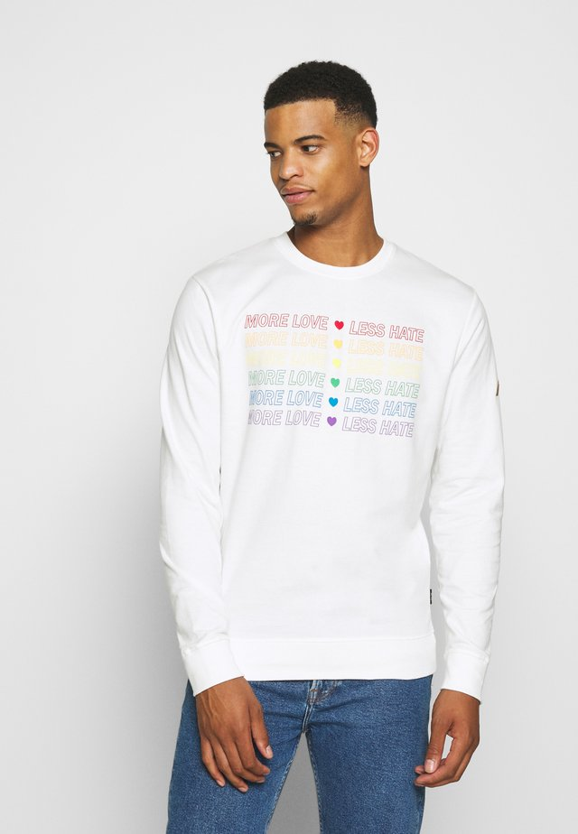 UNISEX PRIDE VELEZ - Sweatshirt - offwhite