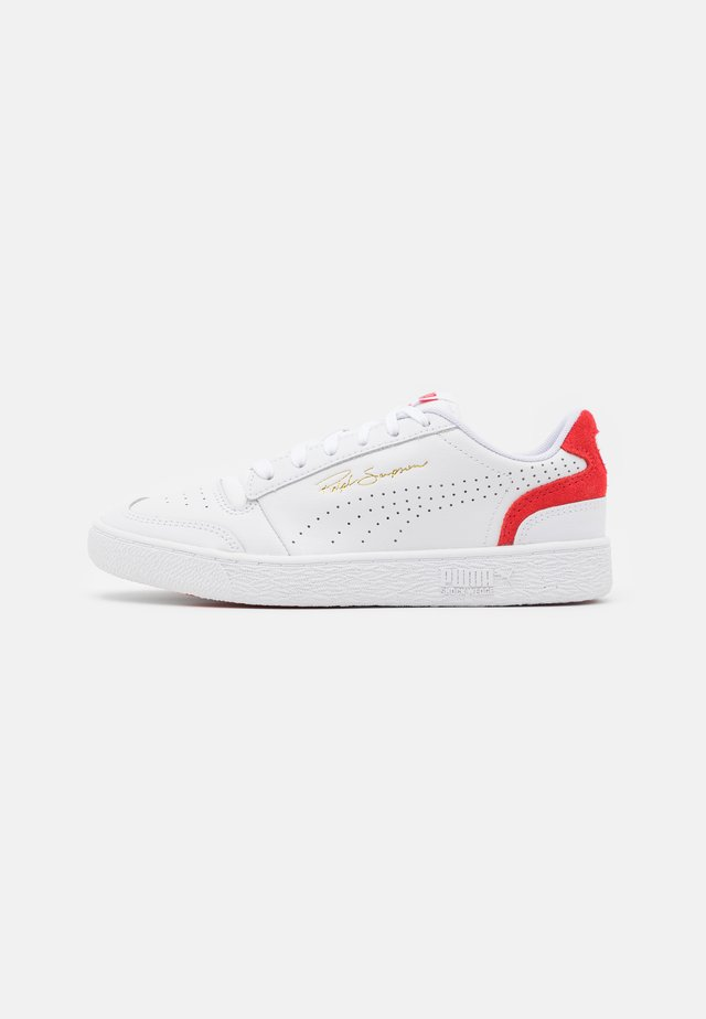 RALPH SAMPSON COLORBLOCK UNISEX - Sneakers laag - white/high risk red