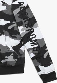 Abercrombie & Fitch - CORE  - Bluza rozpinana - black /white - 2