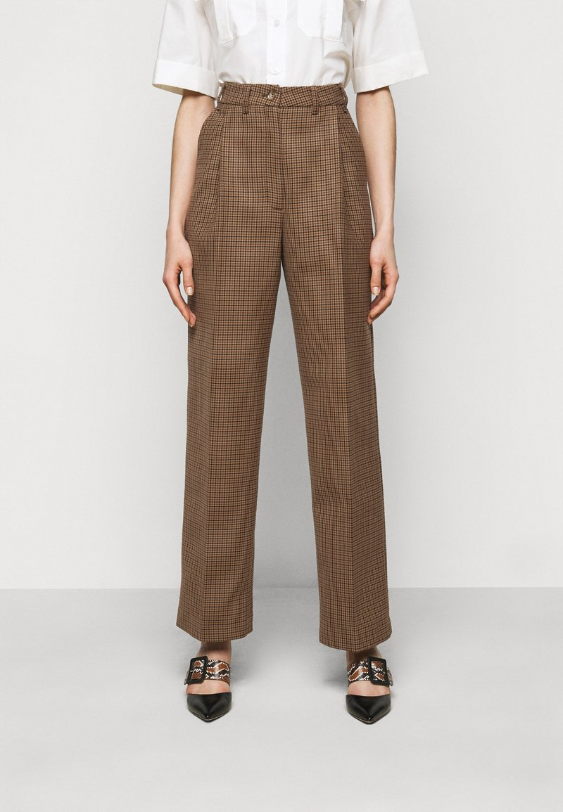 Lovechild - LUCAS - Trousers - brown