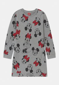 OVS - DISNEY MICKEY MOUSE & MINNIE MOUSE - Denní šaty - titanium - 0