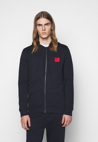 HUGO - DAPLE - Sweatjacke - dark blue - 0