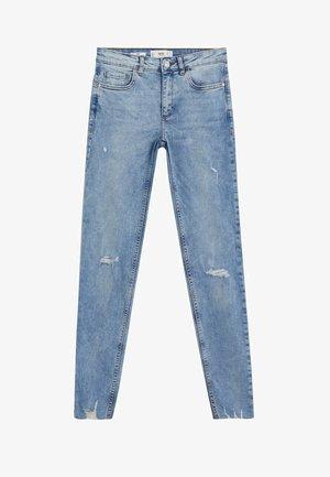 KIM - Jeans Skinny Fit - bleach-blau