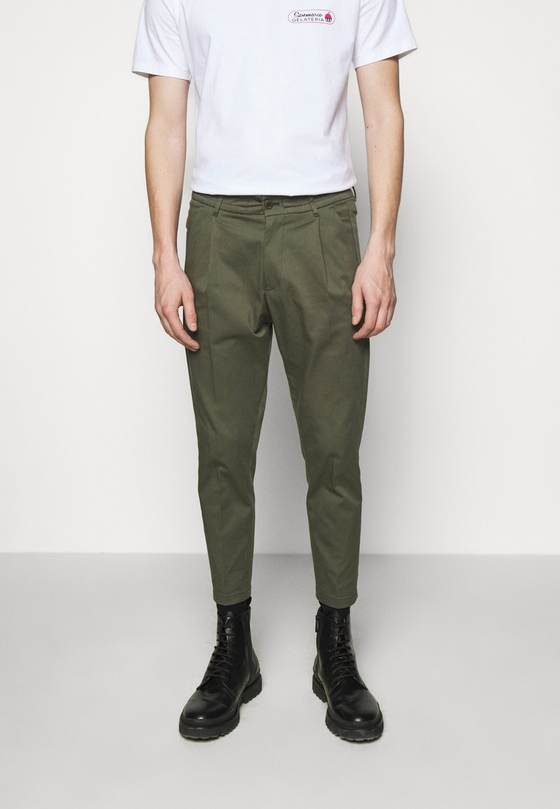 DRYKORN - CHASY - Chinos - mottled olive