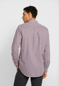 GANT - THE BROADCLOTH GINGHAM - Shirt - port red - 2