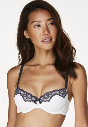 SECRET LACE - Balconette bra - white