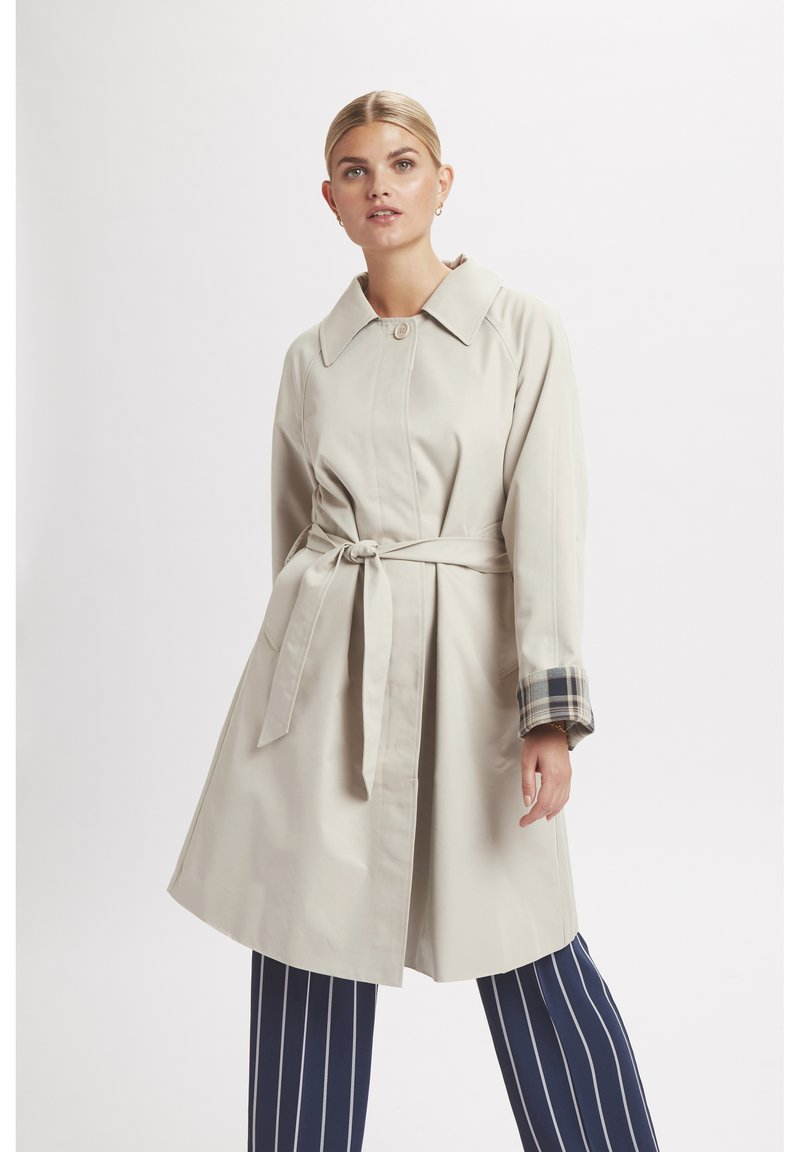 Karen by Simonsen - ELLAKB  - Trench - smoke gray