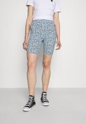 CANDY DOT LEOPARD CYCLE WOMEN - Shorts - black
