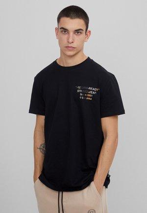 FUTURE-READY  - T-shirt imprimé - black