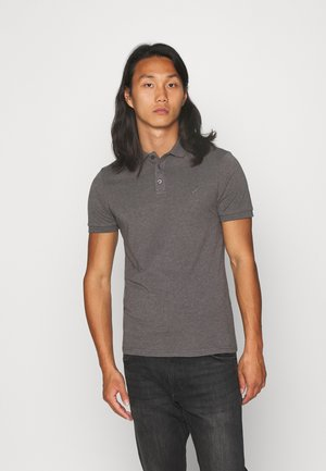 MUSCLE FIT - Polo shirt - dark gray