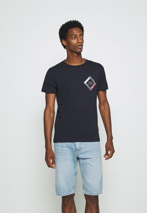 CORP DIAMOND TEE - T-Shirt print - blue