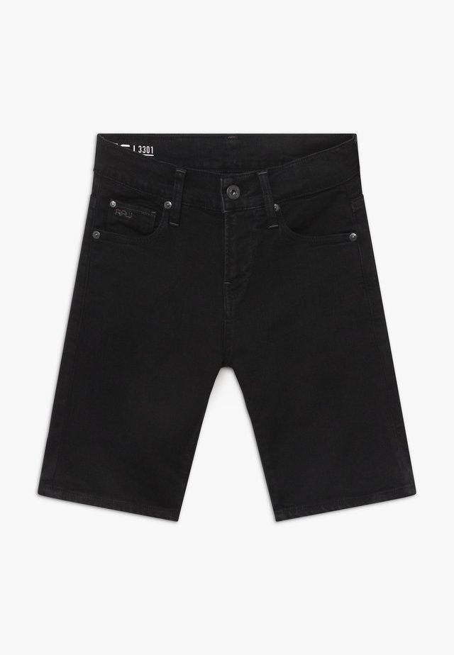 BERMUDA - Shorts vaqueros - black
