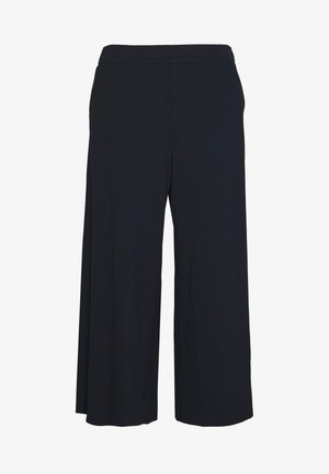 GERMAIN CULOTTES - Spodnie materiałowe - dark blue