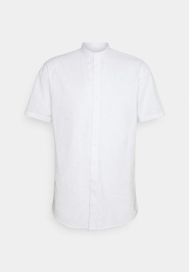 BLEND MANDARIN SHIRT - Camicia - white