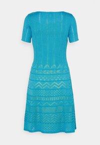 M Missoni - ABITO - Gebreide jurk - mottled teal - 1