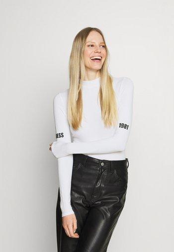 EVA - Long sleeved top - true white