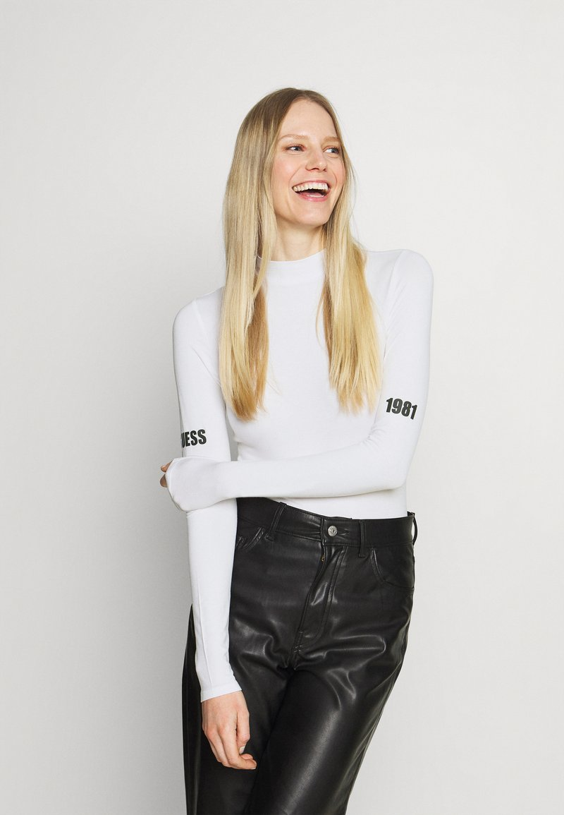 Guess - EVA - Long sleeved top - true white