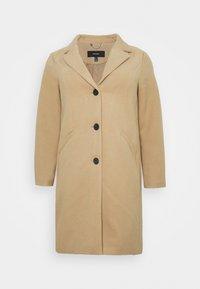 Vero Moda Curve - VMCALACINDY JACKET - Classic coat - tigers eye - 3