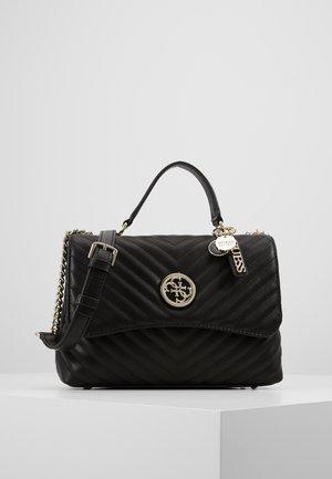 BLAKELY TOP HANDLE FLAP - Handbag - black