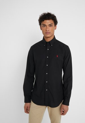 CUSTOM FIT - Camicia - black