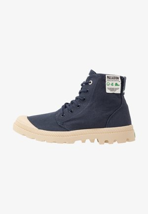 PAMPA ORGANIC UNISEX  - Lace-up ankle boots - mood indigo