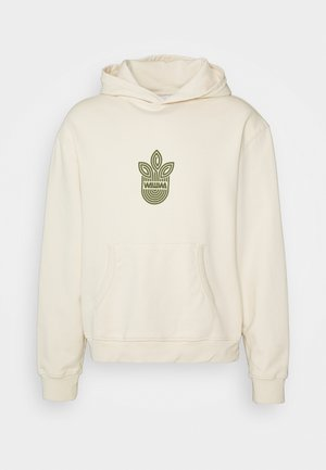 UNISEX LEAF HOOD - Sweatshirt - natural