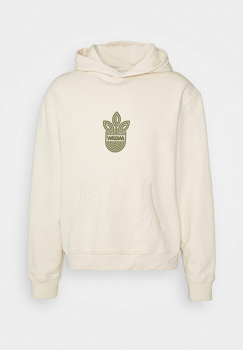 WAWWA - UNISEX LEAF HOOD - Sweatshirt - natural